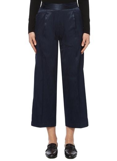 NetWork NetWork 1073871 Yüksek Bel Cropped Bol PaÇa Kadın Pantolon Lacivert